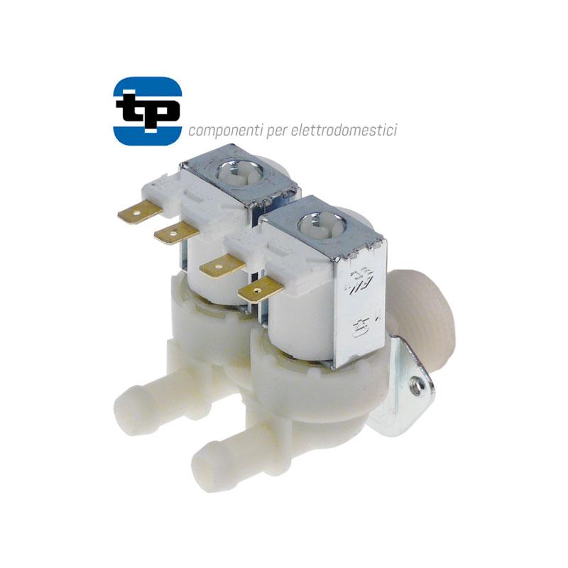 ELECTROVALVULA DE AGUA DOBLE RECTA 230 v