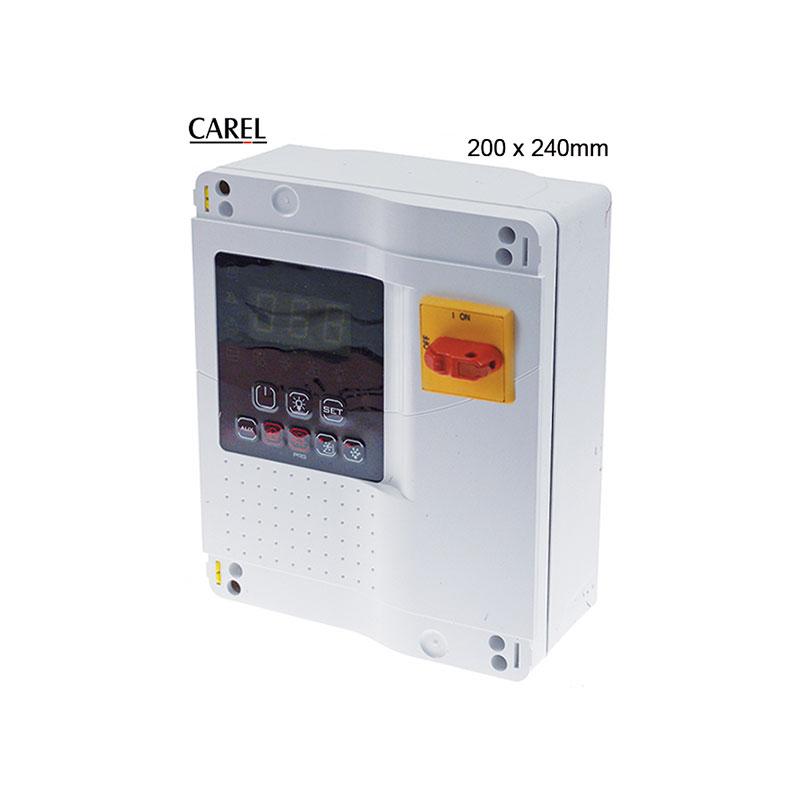 Panel de control para cámara fría carel