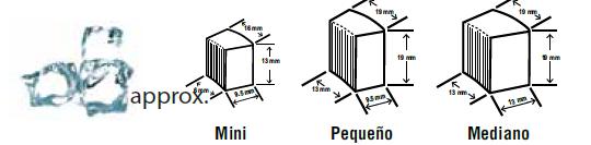 Hielo tipo Cubelet