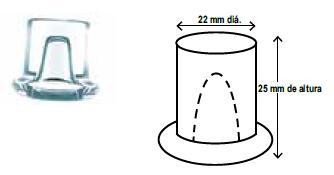 Hielo tipo Cubo cilindro