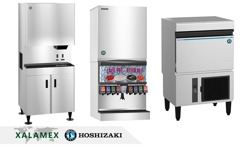 Renta de maquinas de hielo Hoshizaki en Cancún