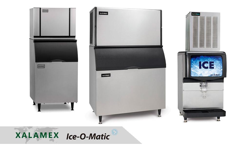 Renta de maquinas de hielo Ice O Matic en Cancún